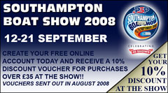 As an exclusive promotion for our online customers, we will be emailing out a voucher in August which you will need to print out and bring along to our stand to receive a 10% discount on all purchases over £35 made at the show!