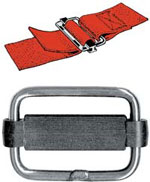 Sliding Bar Buckles With Nylon Bar