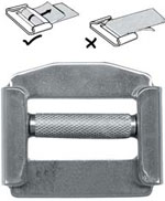 Heavy Duty Sliding Bar Buckle