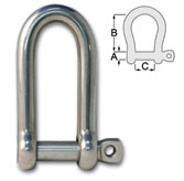 Forged Long D Shackles