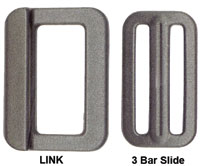 Adjuster Buckle and Slide
