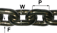 Stainless Steel Short Link Chain