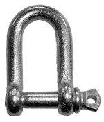 Galvanised D Shackles
