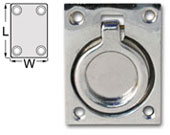Pull Ring - Chrome Plated Brass