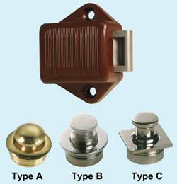 Mini Push Button Latch with Knob