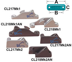 Side Entry Cleats For Up To 6MM Rope