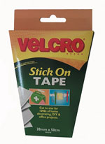 Hook and Loop Stick On Tape