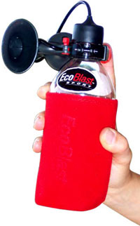 EcoBlast Sport Rechargeable Air Horn with Mini-Pump
